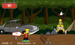 Bart Simpson Skateboarding screenshot 4/5