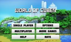World of Cubes - online block building sandbox screenshot 1/6