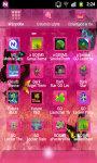GO Launcher EX Theme Pink Cute 1 screenshot 3/3