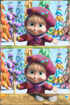 Masha Find Difference screenshot 2/6