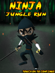 Ninja Jungle Run screenshot 1/3