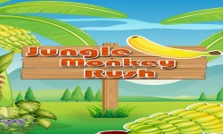 Jungle Monkey Rush : Eat Bananas screenshot 1/6