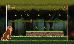 Jungle Monkey Rush : Eat Bananas screenshot 2/6