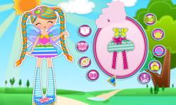 Lalaloopsy Girls Pix E Flutters Dress Up screenshot 2/3