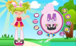 Lalaloopsy Girls Pix E Flutters Dress Up screenshot 3/3