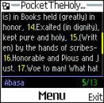 Pocket The Holy Quran screenshot 1/1