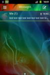 GO SMS PRO THEME Smoke screenshot 1/3