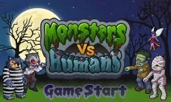 Monsters vs Humans FREE screenshot 3/5