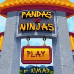 Pandas vs Ninjas Free screenshot 1/3
