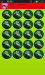 Colorful Frogs Memory Game screenshot 1/2