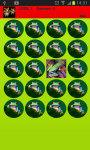 Colorful Frogs Memory Game screenshot 2/2