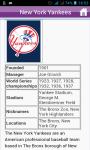 Baseball Teams Quick Facts screenshot 1/3