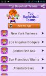 Baseball Teams Quick Facts screenshot 2/3