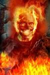 Ghost Rider Skull Remix LWP screenshot 1/3