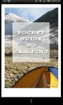 A Pocket Guide to Camping screenshot 1/4