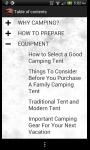 A Pocket Guide to Camping screenshot 2/4