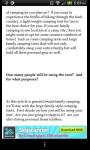 A Pocket Guide to Camping screenshot 3/4