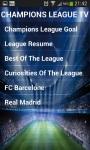 CHAMPIONS LEAGUE TV 2014 screenshot 1/6