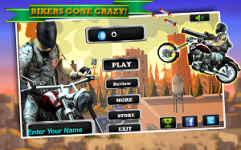 Angry Harlem Bikers Death Race screenshot 1/5