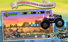 Angry Harlem Bikers Death Race screenshot 4/5
