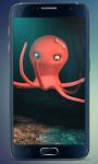 Funny Octopus Live Wallpaper screenshot 1/4