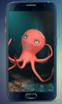 Funny Octopus Live Wallpaper screenshot 2/4