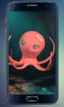 Funny Octopus Live Wallpaper screenshot 3/4