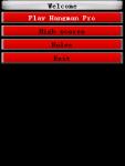 Hangman Pro Javame screenshot 1/2