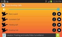 Duck Hunting Calls studio screenshot 2/3