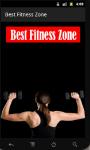 Best Fitness Zone screenshot 1/6