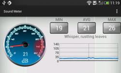 Sound Decibel Meter screenshot 2/3