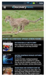 Discovery News live App screenshot 2/6