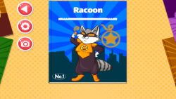 Raccoon Superhero Salon screenshot 1/3