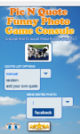Photo Quote Funny Picture Game free screenshot 3/4