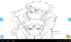 Anime Naruto Coloring screenshot 1/3