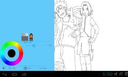Anime Naruto Coloring screenshot 2/3