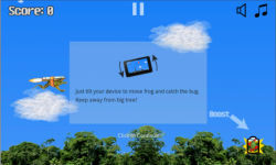 Flying Frog Game screenshot 1/4