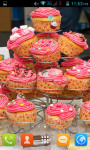 Cupcake Live Wallpaper Best screenshot 2/5