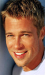 Brad Pitt LWP screenshot 2/5