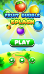Fruit Bubble Splash screenshot 1/4