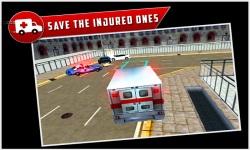 City Ambulance Rescue Drive 3d screenshot 2/5