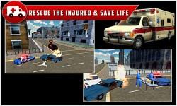 City Ambulance Rescue Drive 3d screenshot 4/5