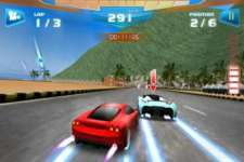Fast Racing 3D Mingle screenshot 1/3