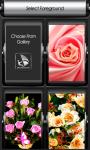Rose Flower Zipper Lock Screen screenshot 3/6