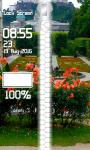 Rose Flower Zipper Lock Screen screenshot 4/6