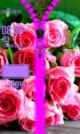 Rose Flower Zipper Lock Screen screenshot 5/6