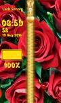 Rose Flower Zipper Lock Screen screenshot 6/6
