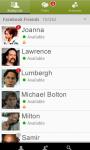 BeejiveIM for Facebook Chat Free screenshot 4/5