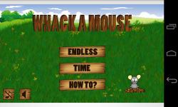 Whack Mouse screenshot 1/4