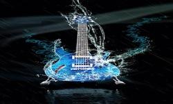 Blue Guitar Live Wallpaper screenshot 2/3
